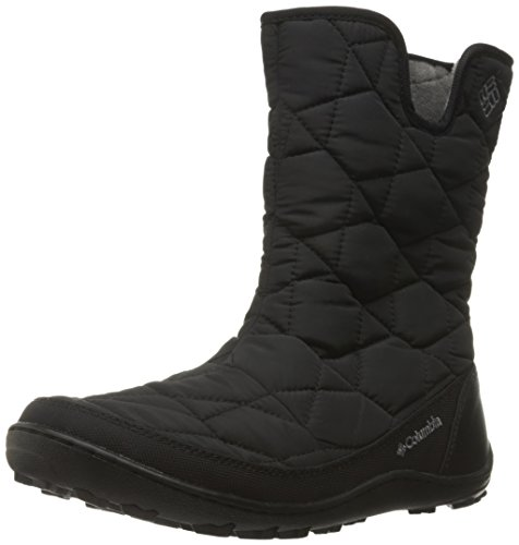 Columbia Women's Minx Slip II Omni-Heat Snow Boot, Black/Quarry, 11 B US by Columbia