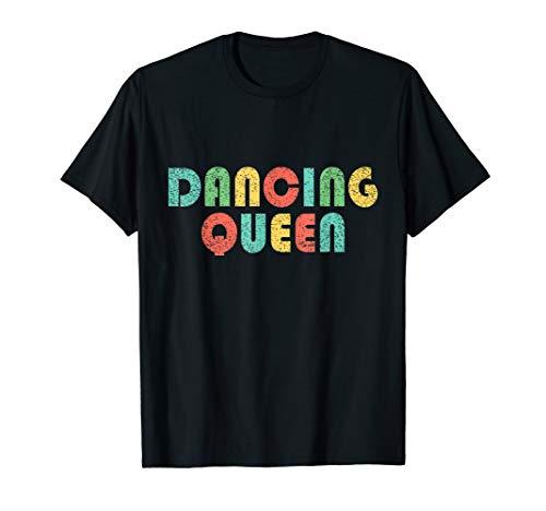 Dancing Queen Distressed Dance Men Women Disco -