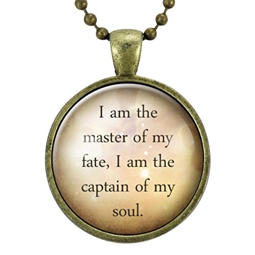 I Am The Master Of My Fate I Am The Captain Of My Soul William Ernest Henley Quote Graduation Gift Invictus Quote Inspirational Quote