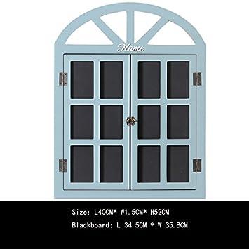 Amazon.com: Moda Retro casa estilo ventana pizarrón pizarrón ...
