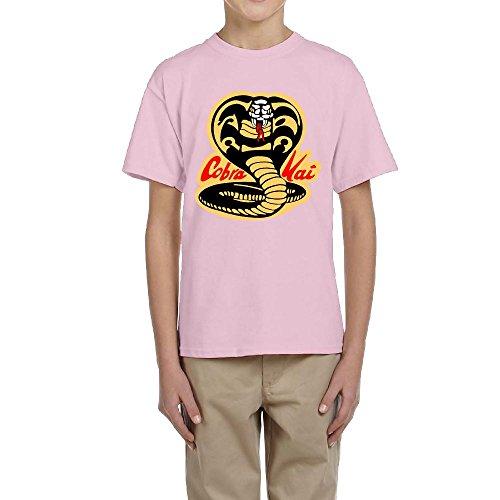 Cobra Kai Karate Dojo Custom Youth T-Shirt Fashion Boy Tee S ()