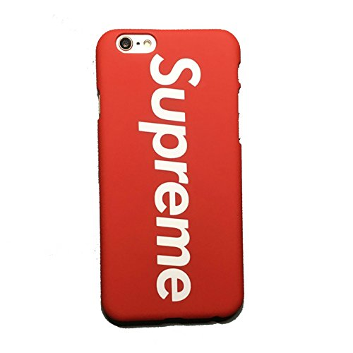Price comparison product image Supreme - iPhone 7 Plus Hard Plastic Case (Red)