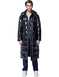 "<span class=""a-offscreen"">[Sponsored]</span>Men's Winter Thickened Hooded Puffer Long Down Jacket Ski Parka Snow Down Fill Coat"
