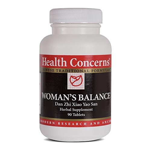Health Concerns - Woman's Balance - Bupleurum and Peony Formula Chinese Herbal Supplement - Dan Zhi Xiao Yao Wan - PMS Support - with Bupleurum Root - 90 Tablets per Bottle