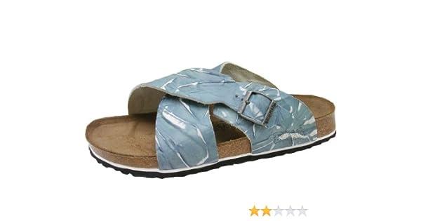 4bd1b79edd98 Amazon.com | Birki's Guam Leather Crossover Strap Sandal U. S. width A-B  (W5/36) | Sandals