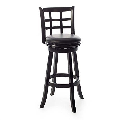 Boraam Kyoto Extra Tall Swivel Bar Stool, 34