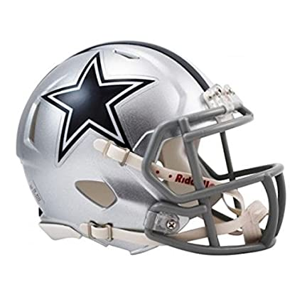 NFL Dallas Cowboys oficial Mini réplica casco – 13 cm de alto