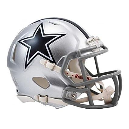 NFL Dallas Cowboys oficial Mini réplica casco – 13 cm de alto