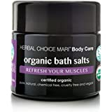 Herbal Choice Mari Organic Bath Salts, Refresh Your Muscles; 3.4floz