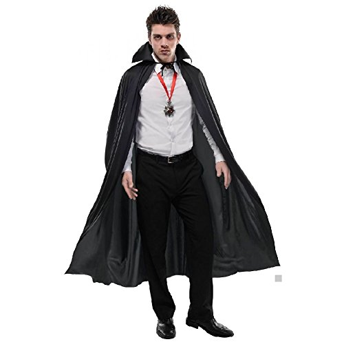 (Vampire Cape Adult Count Dracula Halloween Costume Fancy)