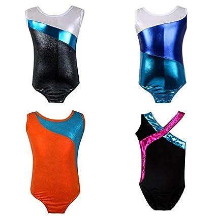 f9a2fcfd6025 Amazon.com   FidgetFidget Bodysuits for Kids Baby Girl GYM ...