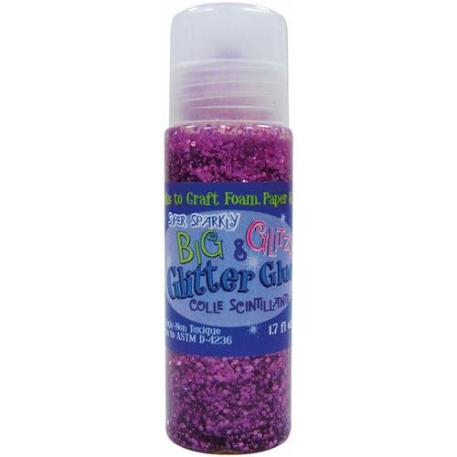 ADVANTUS CORPORATION Big & Glitzy Glitter Glue 1.7 Ounces-Amethyst (Glitzy Glitter Glue)