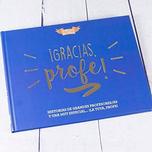 Calledelregalo Regalo Personalizado para Profesores y profesoras: Libro ¡Gracias, profe! con Tarjeta Personalizada: Amazon.es: Hogar