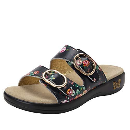 Leather Corsage - Alegria Jade Womens Sandal Corsage 10 M US