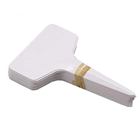 ShAwng 50 UNIDS 6 * 10 cm Plástico Tipo de Planta T Etiquetas ...