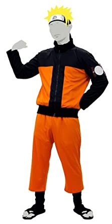 Amazon.com: Naruto cosplay traje – -de los hombres (Tamaño ...