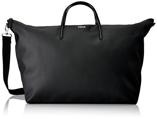 Lacoste L.12.12 Concept Travel Shopping Bag - 000 Black -...