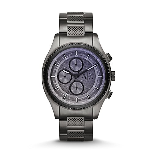 Armani Exchange Men's AX1606  Gunmetal  - Armani Exchange 2014