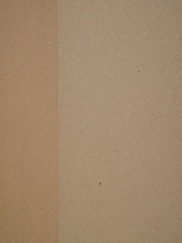 25 x Kraft Recycled A4 280gsm Card (Picture shows front & reverse) Jackdaw Express