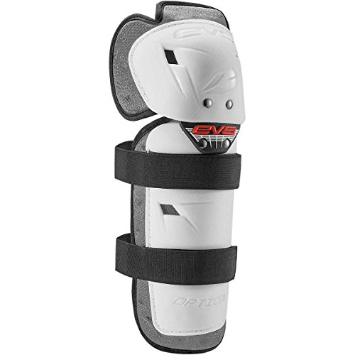 EVS 2016 Option Youth Knee Guard Off-Road Motorcycle Body Armor - White/One Size ()