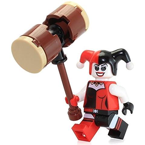 LEGO DC Comics Super Heroes Minifigure - Harley Quinn with Hammer (76035) (Dc Figures Beast Boy)