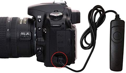 MeterMall Electronics Shutter Release Remote Control Cable Cord for Cannon EOS