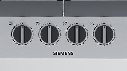 Siemens EC6A5PB90 Encimera 4h stepflame: Amazon.es: Grandes ...