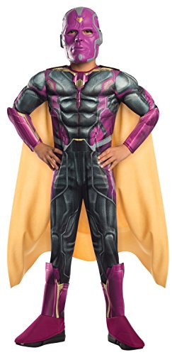 Rubie's Costume Avengers 2 Age of Ultron Child's Deluxe Vision Costume, Medium]()
