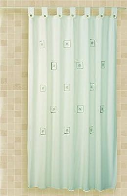 Cortina baño algodon