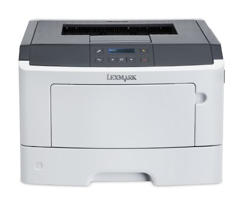 Lexmark MS317dn Compact Laser Printer, Monochrome, Networking, Duplex Printing