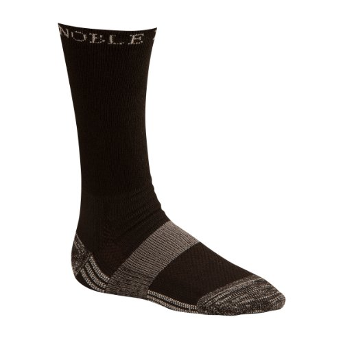 Noble Equine The Best Dang Boot Sock - Crew - Large - Black