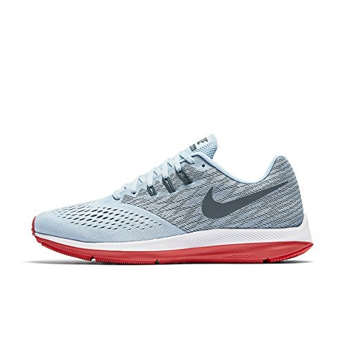 d69a65e19340 New Nike Dual Fusion Lite Grey Red Mens 8.5