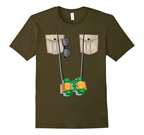 Zookeeper Costume For Men (Mens Zoo Keeper Halloween Costume - Jungle Safari Explorer Gift Medium Olive)