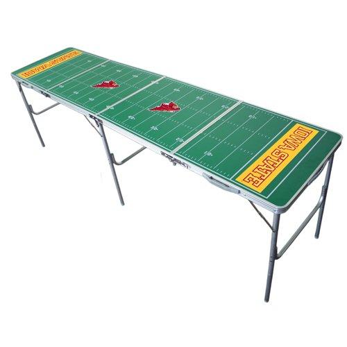 Iowa State Desk (Iowa State Cyclones 2x8 Tailgate Table by Wild Sports)