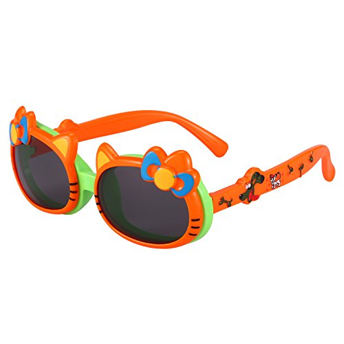 Kids Sunglasses Lovely Flexible Polarized Sunglasses for - Are Made Polarized What Of Lenses
