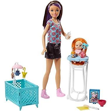 Barbie Skipper Babysitters Inc. Doll and Feeding Playset