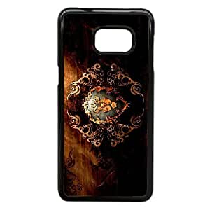 Generic Design Back Case Cover Samsung Galaxy S6 Edge Plus Cell Phone Case Black Game World of Warcraft Alliance Vjttu Plastic Cases