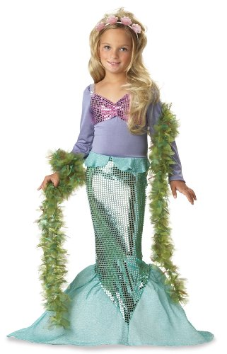 Lil Mermaid Costume - Toddler Costume - Toddler (3T-4T)
