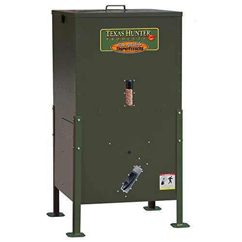 Texas Hunter Directional Fish Feeder w/Straight Legs - 175 lb. Fish Feed Capacity - Model DF300DL ()