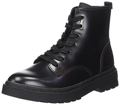 Boots Black Annie Klein Calf Combat Black Box WoMen Calvin wnUx8Yzz