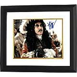 Dustin Hoffman signed Captain Hook 11x14 Photo Custom Framed- Beckett Holo #C88455 (horizontal)