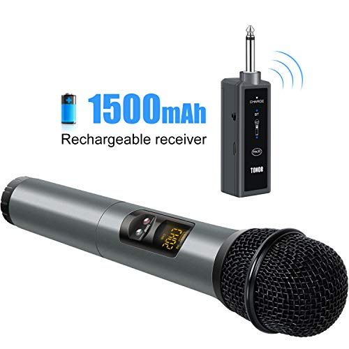 How Do You Play Pick Up Sticks (TONOR UHF Wireless Microphone Handheld Mic with Bluetooth Receiver 1/4 Output for Conference/Weddings/Church/Stage/Party/Karaoke,)