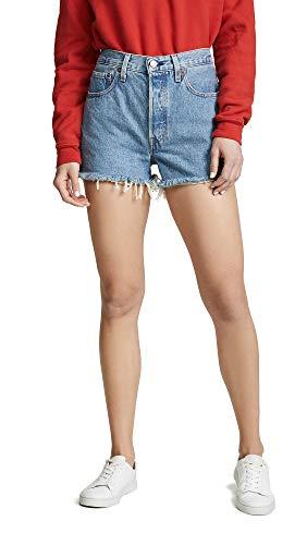 Levi's Women's 501 High Rise Shorts (24, Flat Broke)