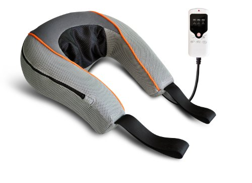Carepeutic-KH251-3D-Vitality-Kneading-Neck-Massager-with-LED-Controller-Grey