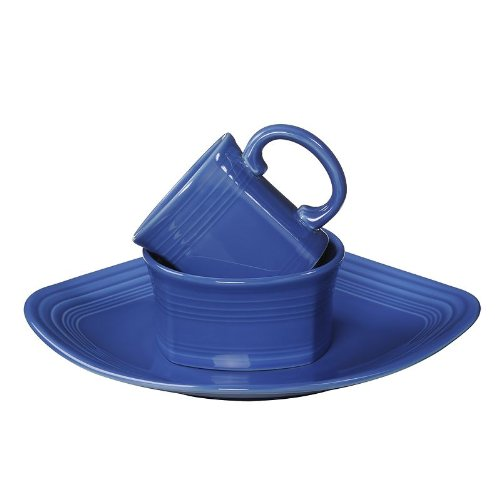Fiesta Lapis 3 Pc Square Place Set (Dishes Square Fiesta)