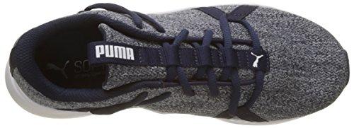 Femme Chaussures de Peacoat 02 Incite Knit Fitness Puma Bleu Wn's 47YZxwq