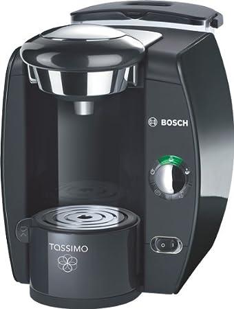 Bosch TAS4212- Cafetera multibebidas automática Tassimo, 1300 W, 1 Taza, 2 L, color negro