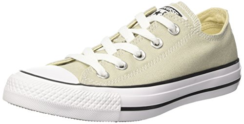 Converse Unisex Adults' CTAS Ox Sneakers Grey (Light Surplus) newest ueQnbw