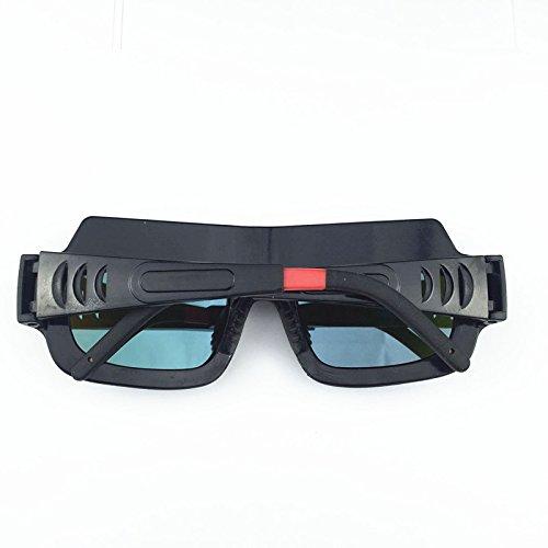 Welding Goggles Zinnor Welding Glasses Mask Lens Helmet Auto Darkening Solar Powered Anti-scraping Welder Glasses Arc PC Lens For Welding Protection by Zinnor (Image #4)
