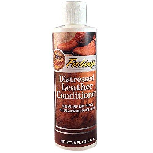 - Fiebing's 8 Oz. Distresses Leather Conditioner